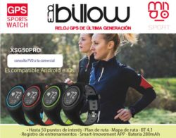 reloj inteligente deportivo billow