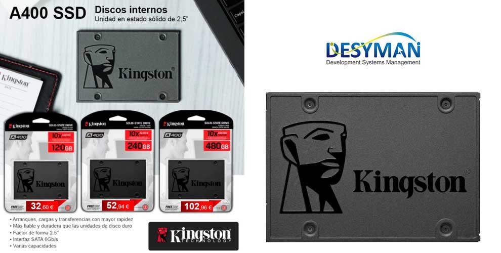 ofertas discos ssd kingston