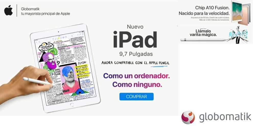 oferta nuevo ipad 9,7 pulgadas