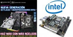 nuevas placas base y procesadores de intel