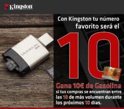 precio almacenamiento de kingston