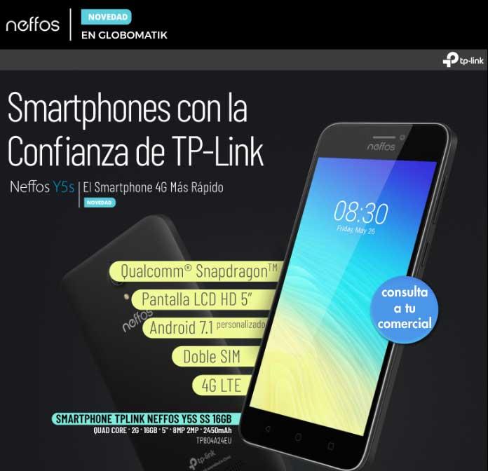 smartphone con la confianza de tp-link