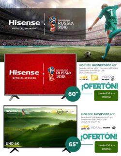 oferta tv Hisense mundial rusia