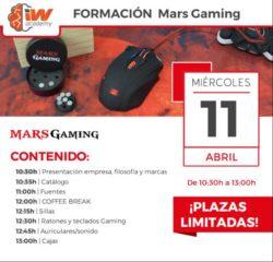 formacion productos mars gaming