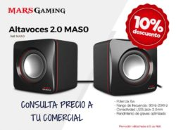 altavoces mars gaming baratos