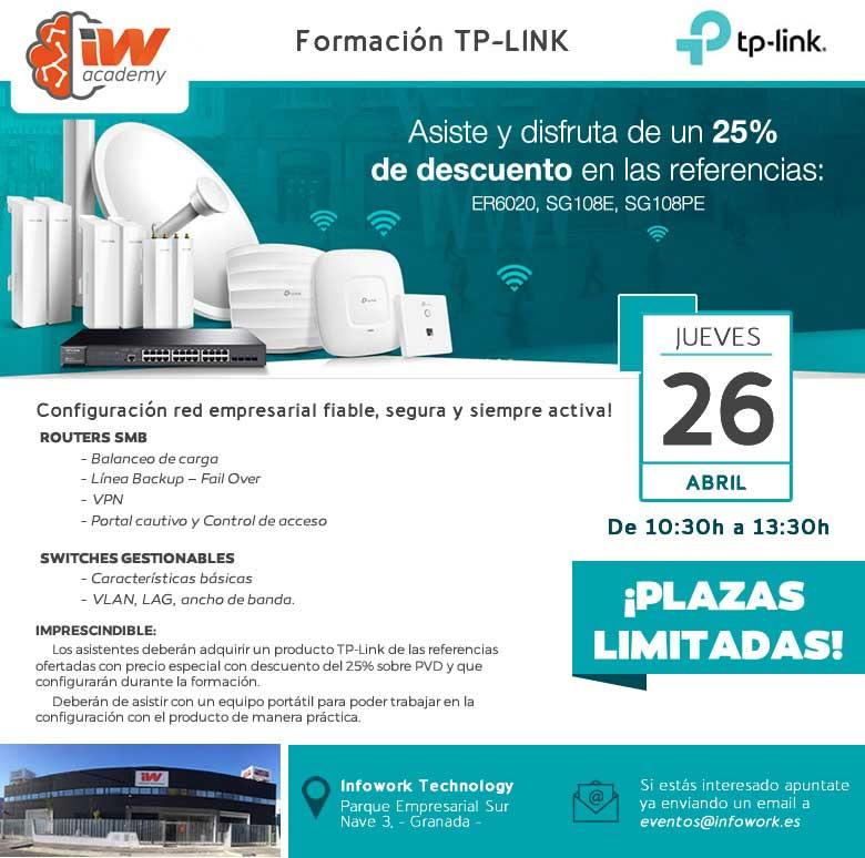 formacion tp-link en infowork