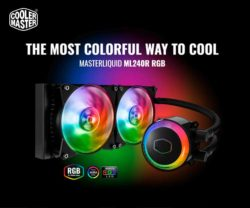 comprar coolermaster masterliquid ml240r rgb