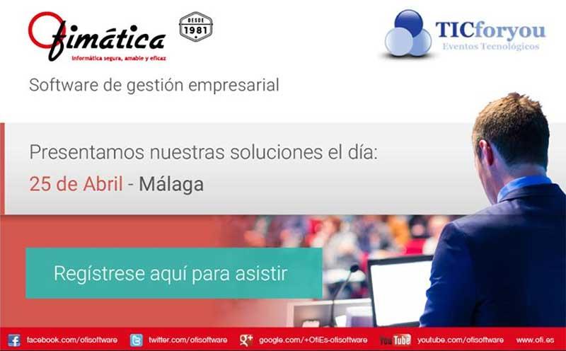 presentacion soluciones software ofimatica en málaga