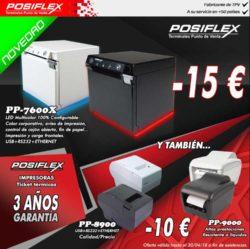 promocion impresoras posiflex