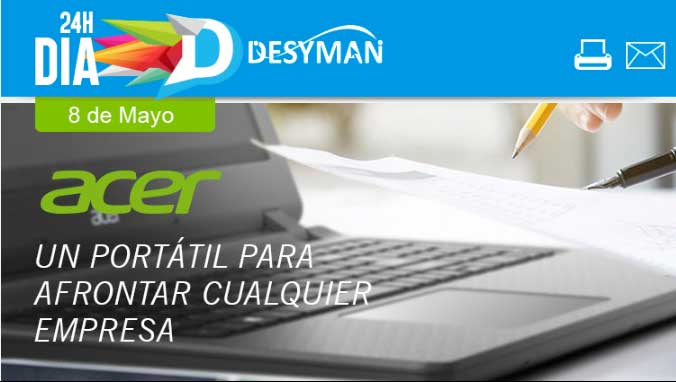 ahorro con portatil Acer
