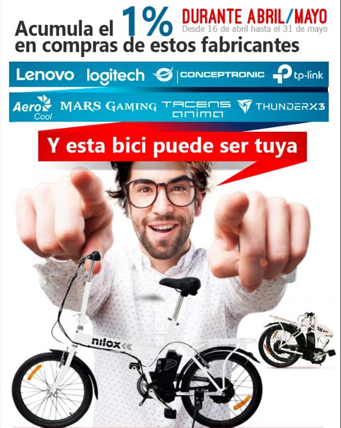 promocion bici eletrica
