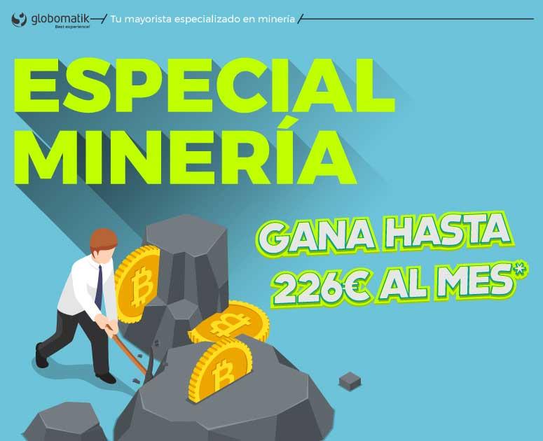 Globomatik, tu mayorista especializado en mineria