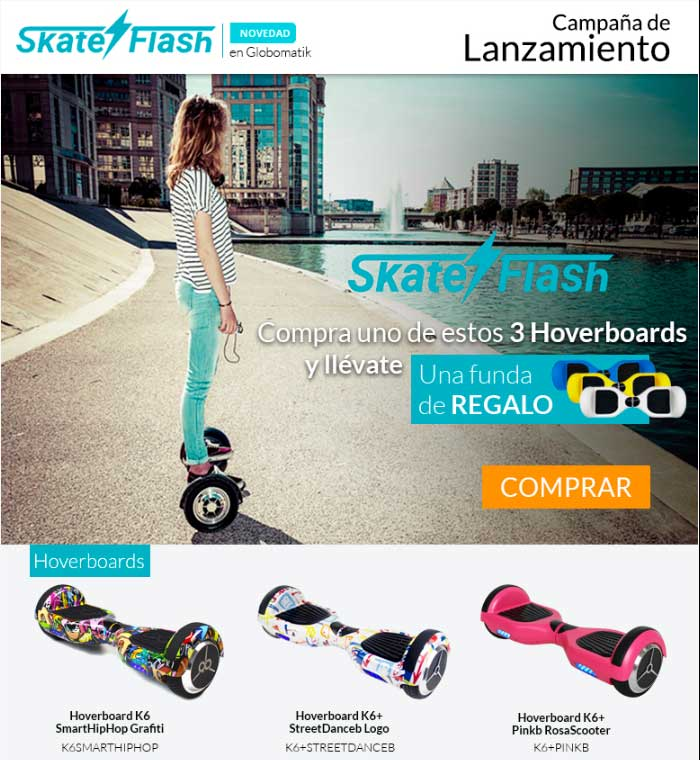 skateflash hoverboards y e-scooters
