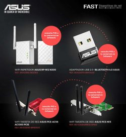 oferta dispositivos de red Asus