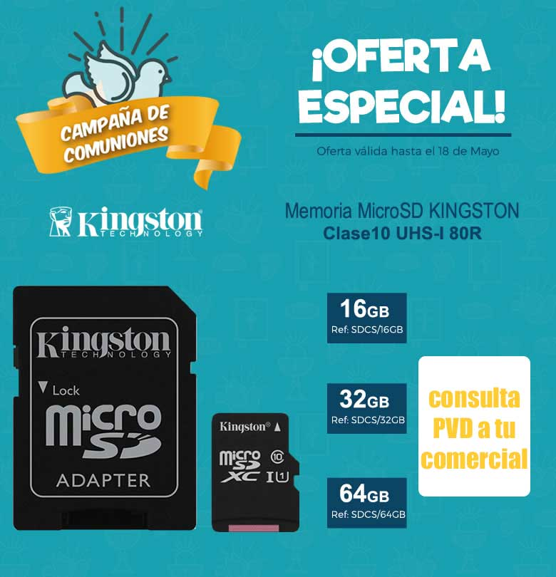 oferta memoria kingston