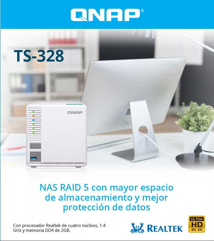 oferta Qnap TS-238 raid 5
