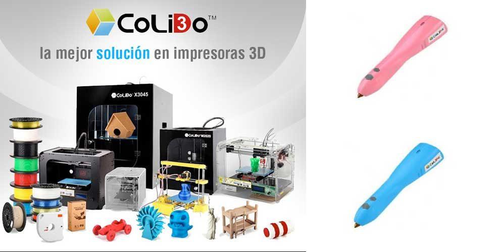 oferta en impresoras 3d colido