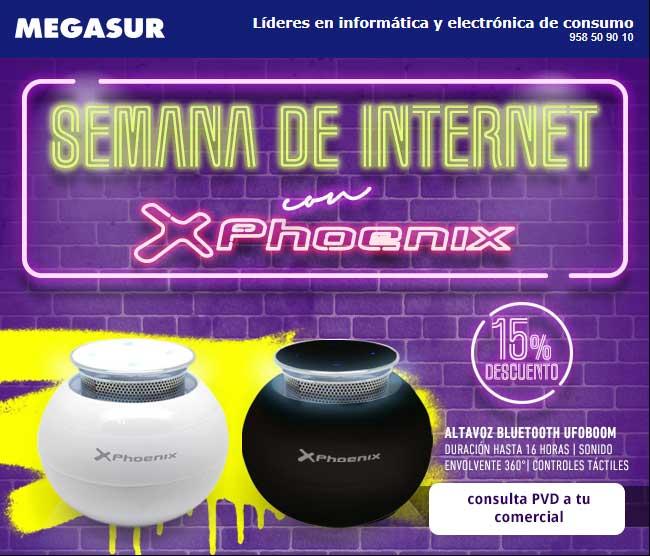 semana de internet en Megasur