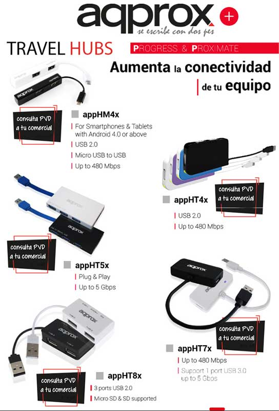oferta travel hub de approx