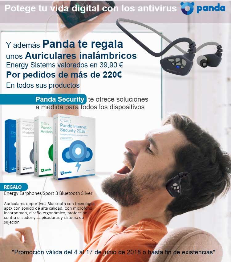 la mejor oferta en auriculares de Panda