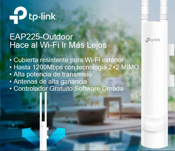 PUNTO DE ACCESO WIFI DUALBAND TP-LINK EAP225-OUTDOOR