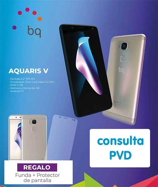 promo smartphone bq Aquaris V