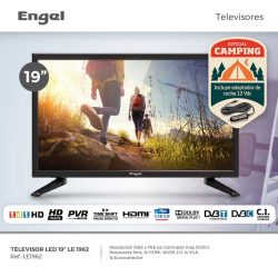 "TELEVISION 19"" ENGEL LE1962 HD READY USB 12 VOLTIOS"