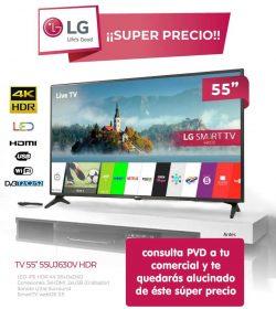 oferta tv lg 55 pulgadas super precio