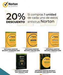 20% descuento en Norton by symantec