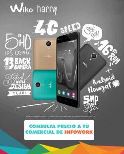 oferta smartphone wiko harry