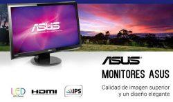 oferta monitores Asus en Megasur