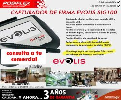 capturador de firmas evolis