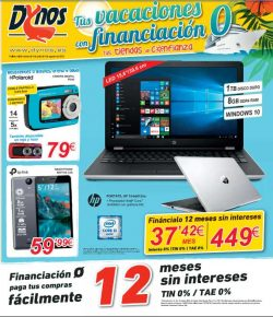folleto ofertas informatica dynos