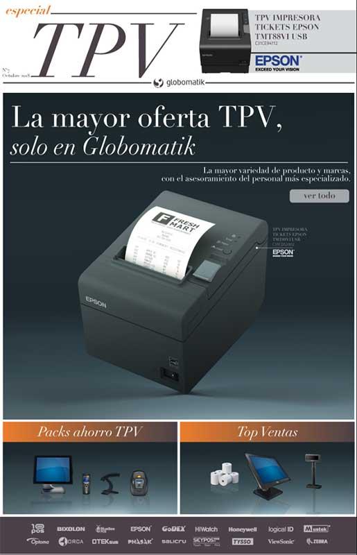 La mayor oferta TPV la tienes en Globomatik