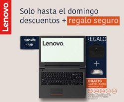 descuentos y regalos con Lenovo