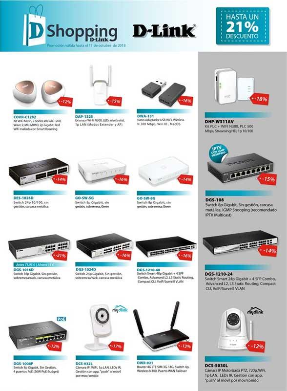 ofertas y promociones de d-link