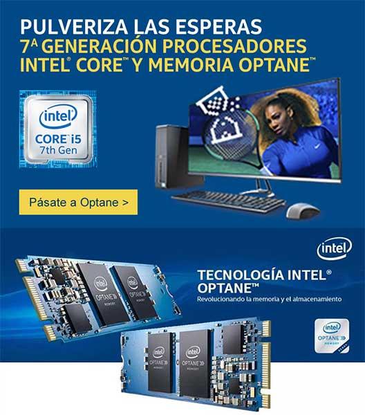 Pásate a la tecnología Intel Optane