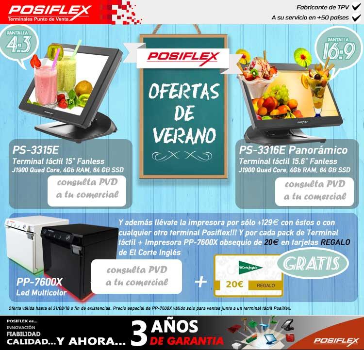 ofertas de verano en Posiflex
