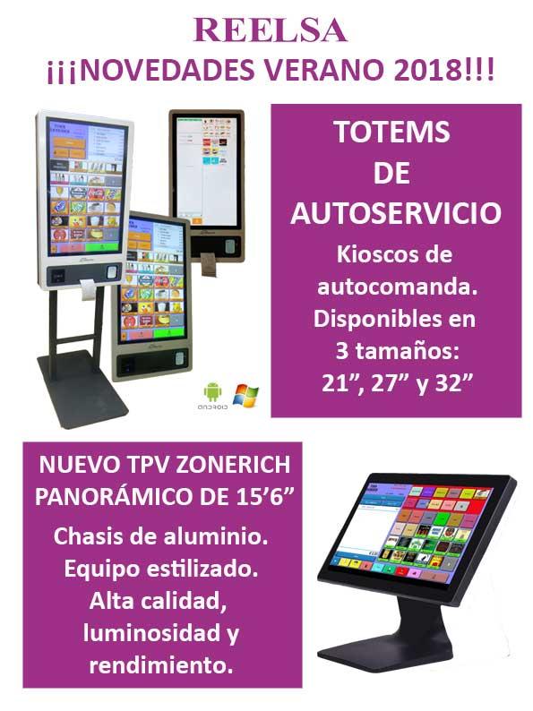 Te presentamos nuestras amplia gama de productos:cajas registradoras electrónicas, TPV tactil, monitor tactil, Impresora de etiquetas