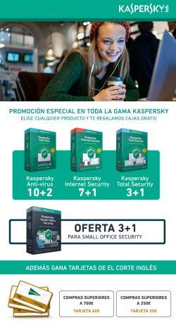 oferta kaspersky en Megasur