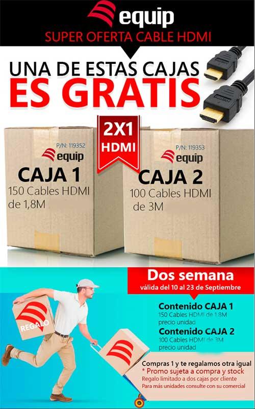 oferta cable HDMI equip