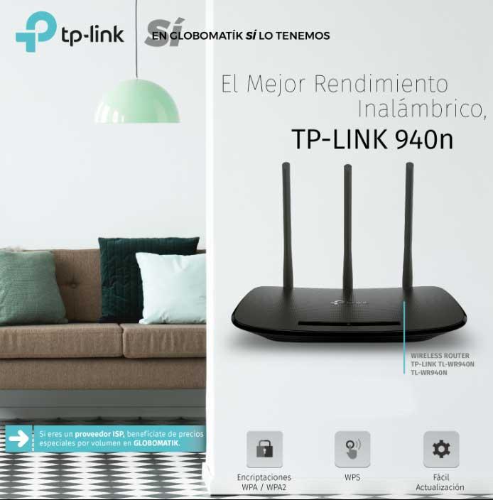 el mejor rendimiento con tp-link