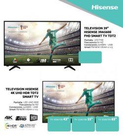 comprar tv economica hisense