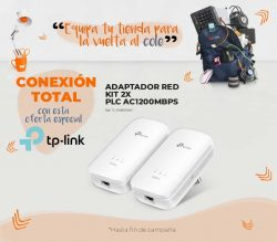 ADAPTADOR RED TP-LINK KIT 2X PLC AC1200MBPS