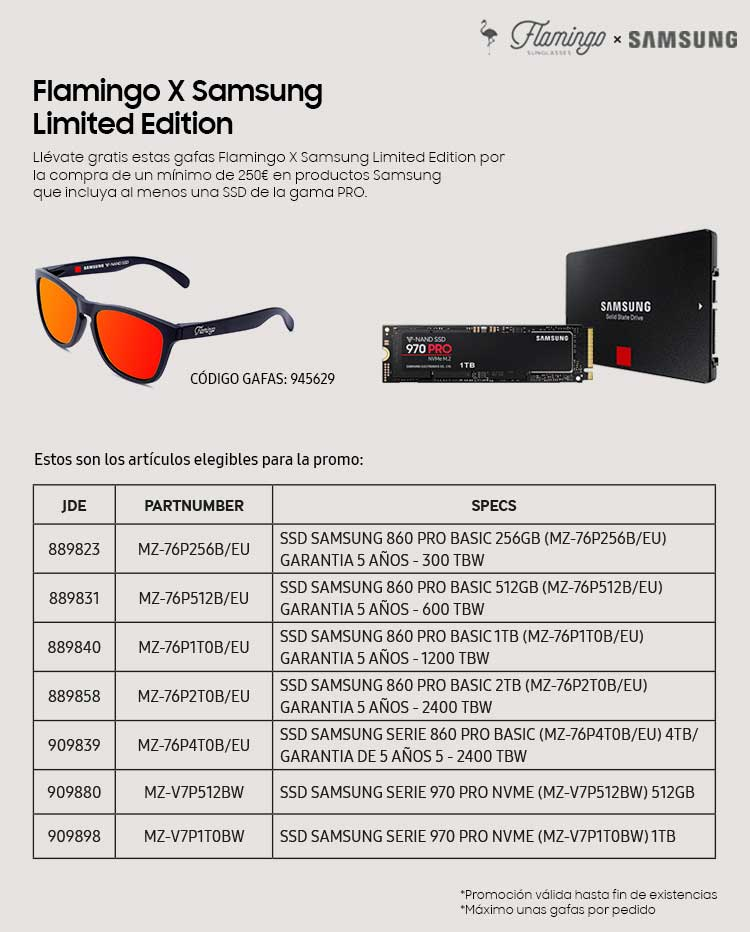 promocion gafas Flaming