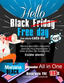 Black Free day en desyman