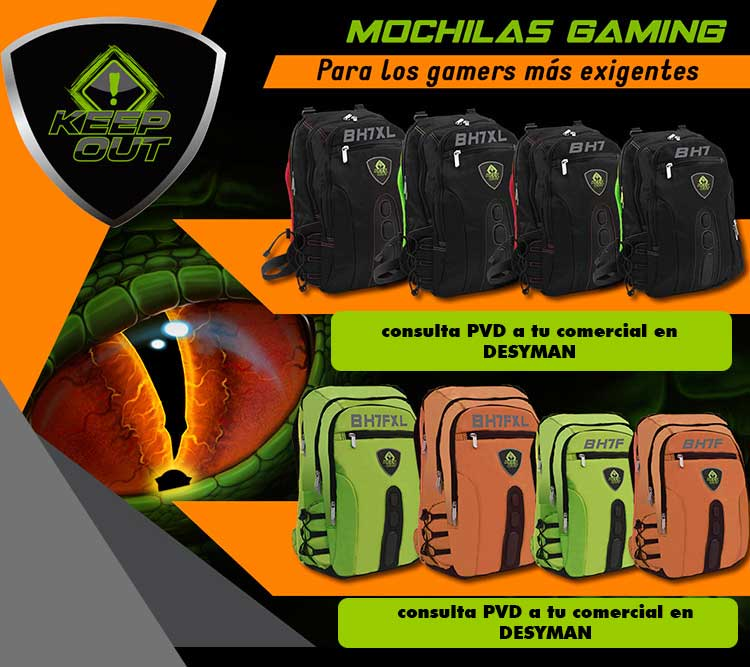 oferta mochilas gaming