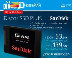 oferta en SSD Sandisk