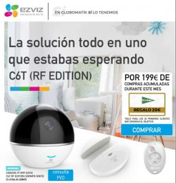 CAMARA IP WIFI EZVIZ C6T RF EDITION 32WMFR WHITE