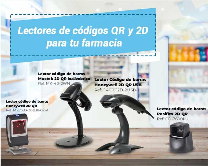 oferta escaner codigo para farmacias